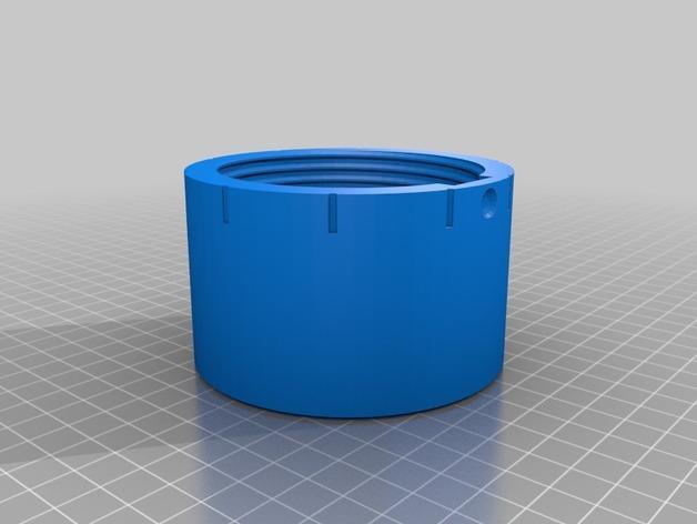 密码锁软饮料罐盒/存钱罐 3D模型  图5