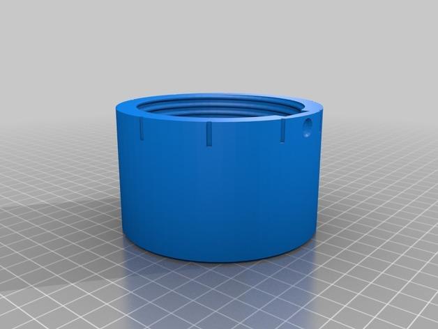 密码锁软饮料罐盒/存钱罐 3D模型  图4