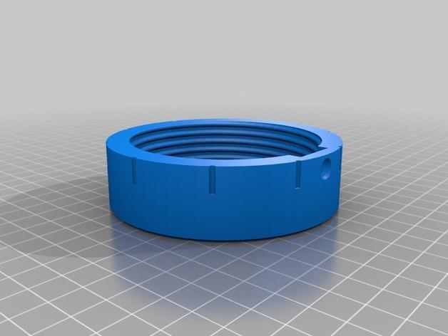 密码锁软饮料罐盒/存钱罐 3D模型  图6