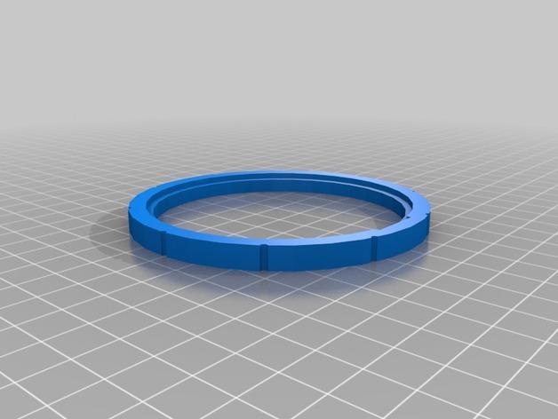 密码锁软饮料罐盒/存钱罐 3D模型  图8