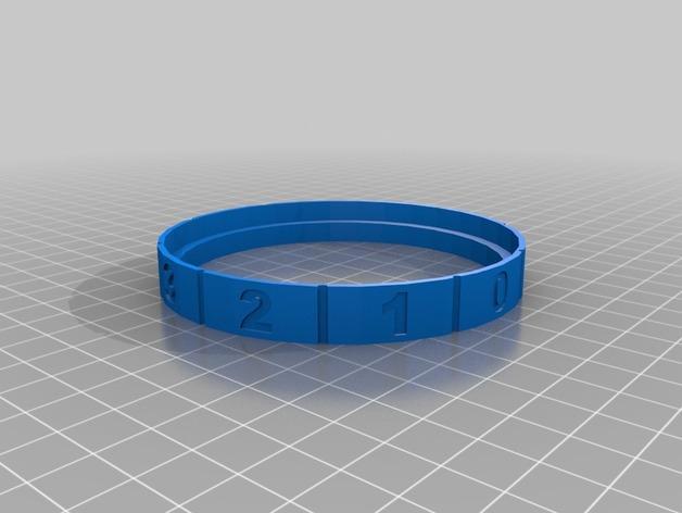 密码锁软饮料罐盒/存钱罐 3D模型  图14