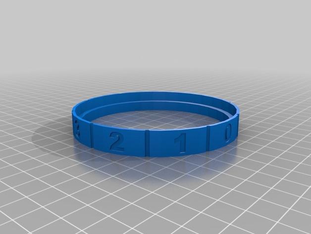 密码锁软饮料罐盒/存钱罐 3D模型  图15