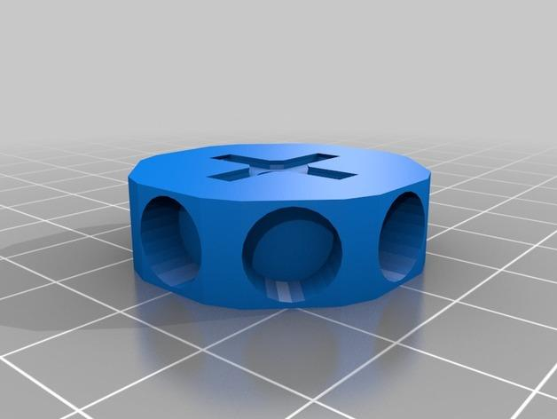 迷你简易喂鱼机 3D模型  图4