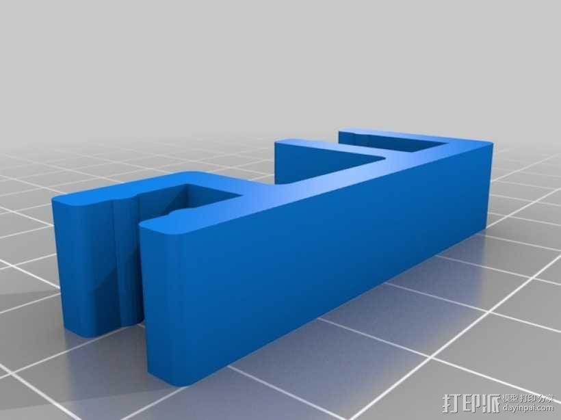 迷你简易喂鱼机 3D模型  图5