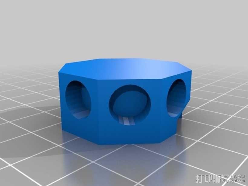 迷你简易喂鱼机 3D模型  图6