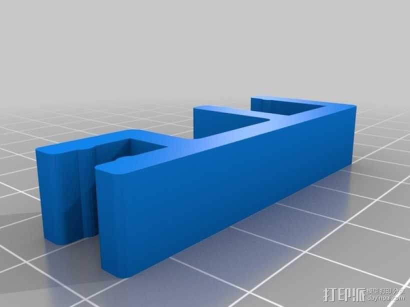 迷你简易喂鱼机 3D模型  图7