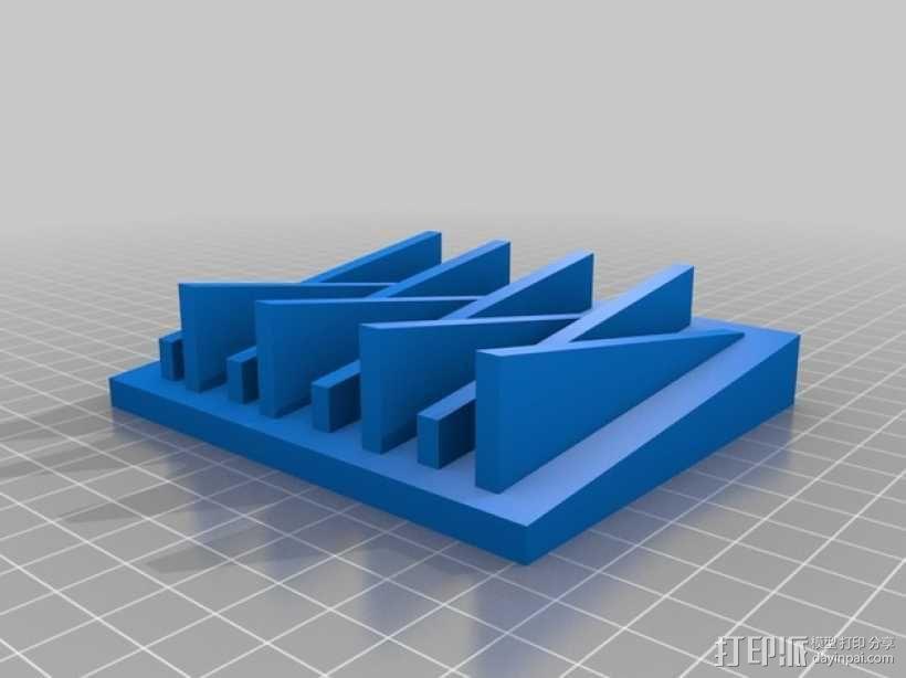 简易肥皂盒 3D模型  图2
