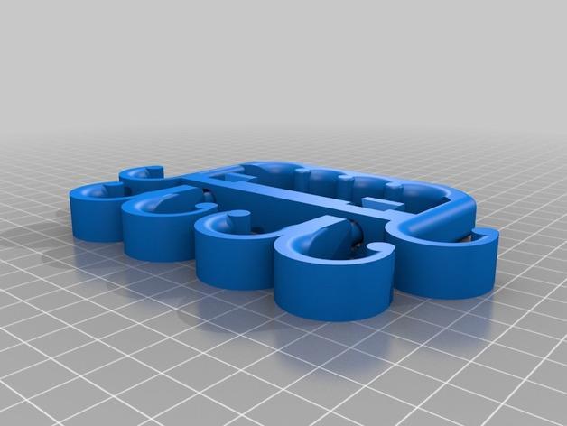 多功能购物袋手柄 3D模型  图3