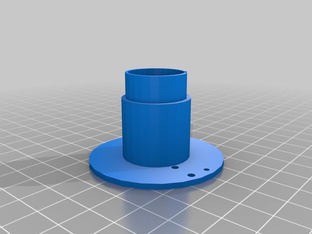 双色线材线轴 3D模型  图3