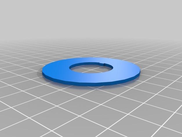 双色线材线轴 3D模型  图4