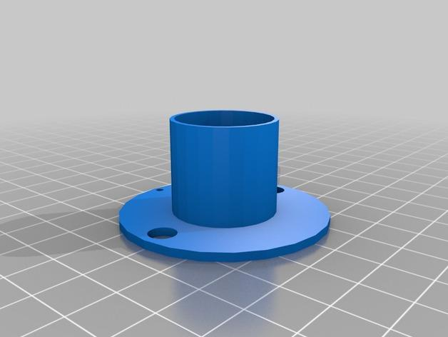 双色线材线轴 3D模型  图6