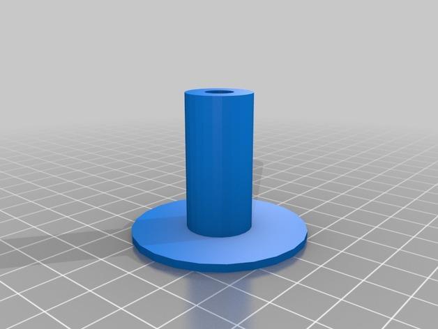 双色线材线轴 3D模型  图5