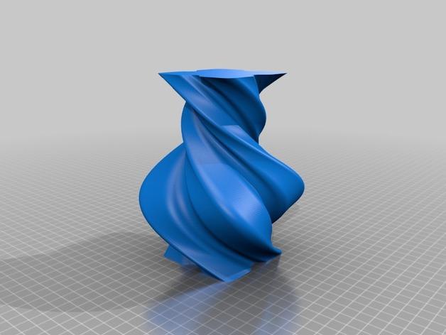 螺旋形花瓶 3D模型  图5