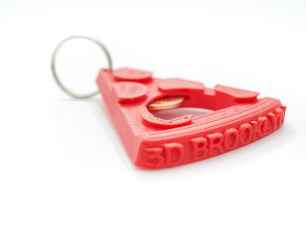 披萨形开瓶器 3D模型  图4