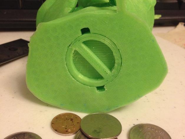 尤达大师存钱罐 3D模型  图3