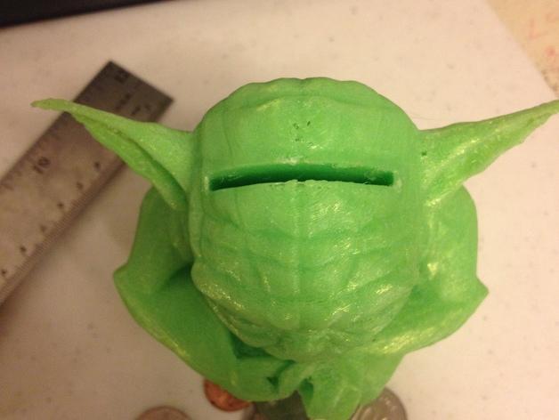 尤达大师存钱罐 3D模型  图2