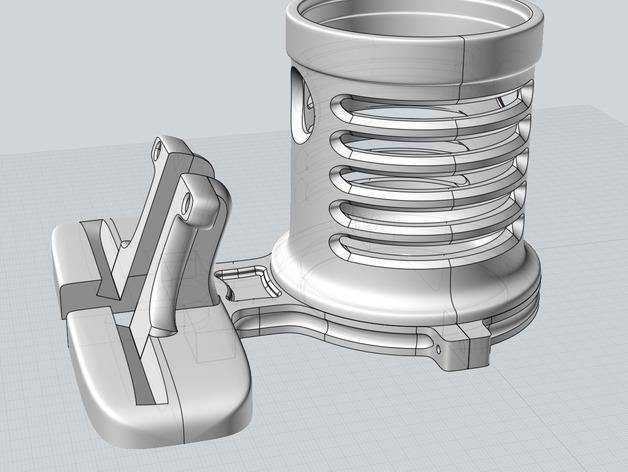 笔筒&手机架 3D模型  图5
