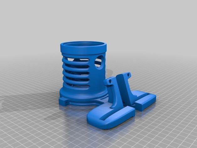 笔筒&手机架 3D模型  图6