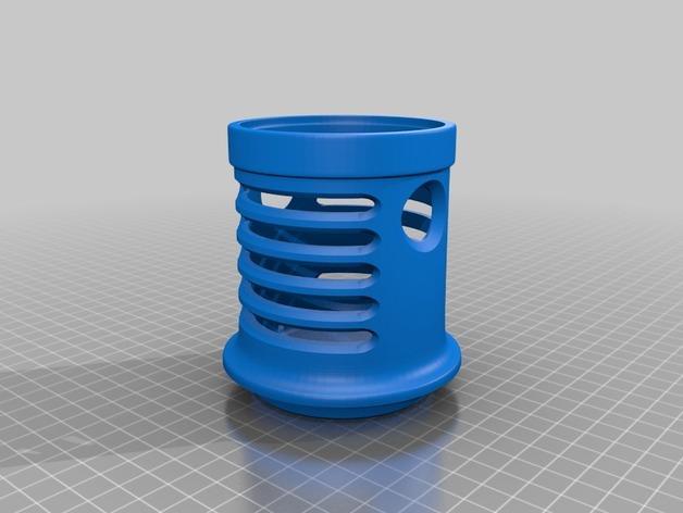 笔筒&手机架 3D模型  图7