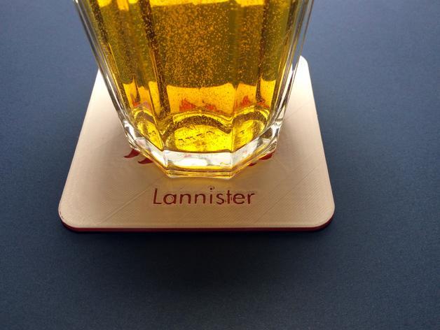 迷你饮料杯垫 3D模型  图4