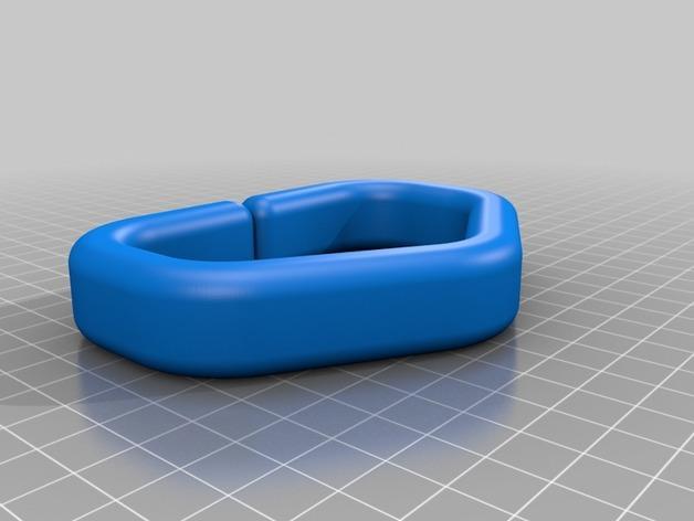 塑料购物袋夹袋器/把手 3D模型  图2