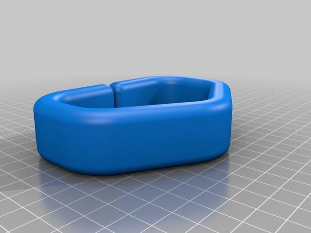 塑料购物袋夹袋器/把手 3D模型  图4