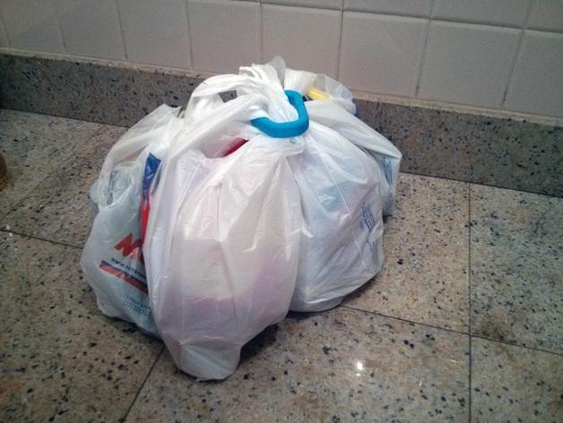 塑料购物袋夹袋器/把手 3D模型  图6