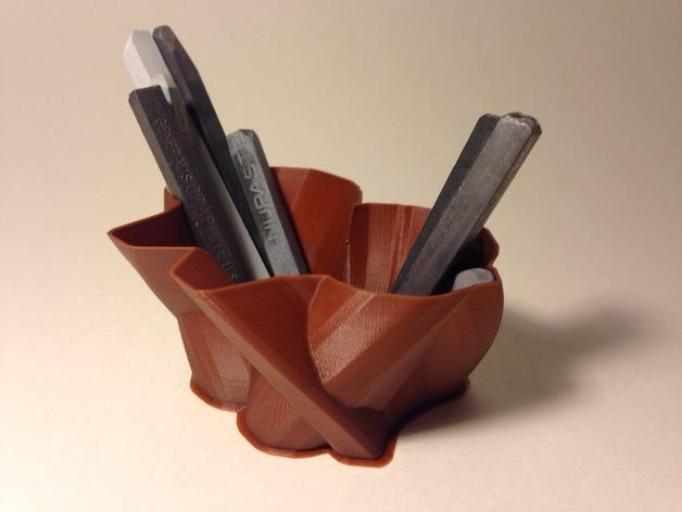 定制化花瓶/笔筒 3D模型  图2