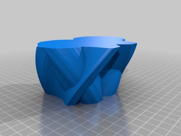 定制化花瓶/笔筒 3D模型  图4