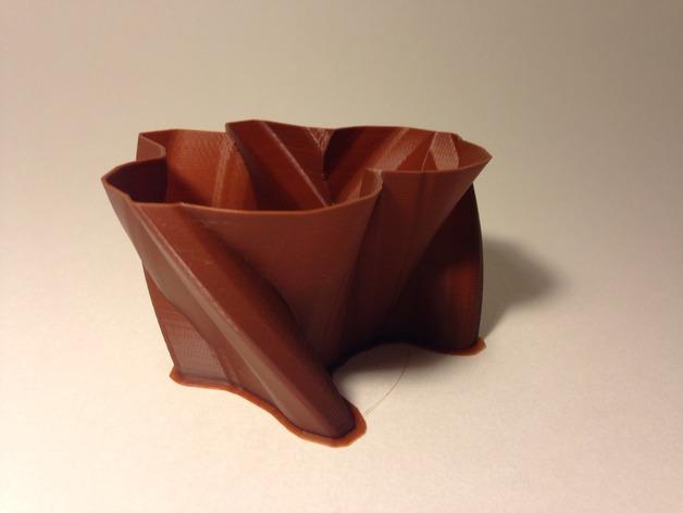 定制化花瓶/笔筒 3D模型  图3