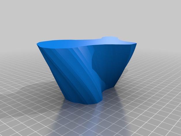 定制化花瓶/笔筒 3D模型  图5