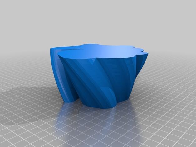 定制化花瓶/笔筒 3D模型  图6