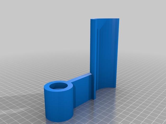 立式风力涡轮机 3D模型  图3