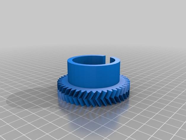 立式风力涡轮机 3D模型  图5