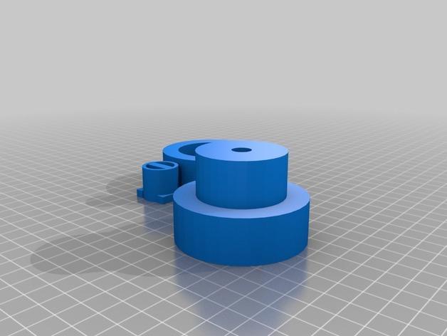 立式风力涡轮机 3D模型  图4