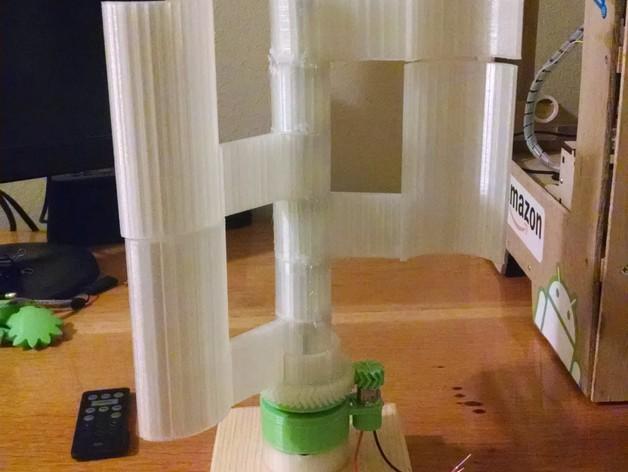 立式风力涡轮机 3D模型  图8