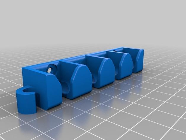 桌面式电线夹 3D模型  图2