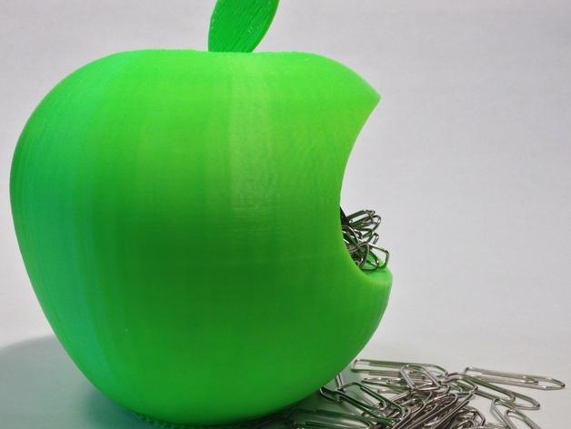 苹果形收纳盒 3D模型  图1