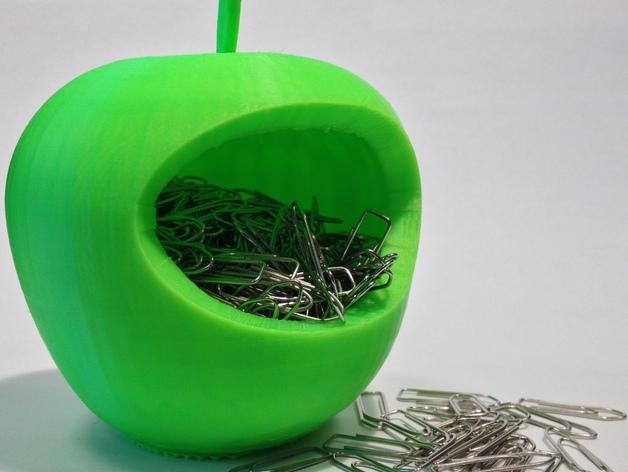 苹果形收纳盒 3D模型  图5
