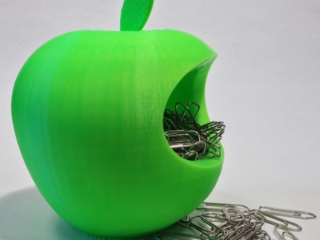 苹果形收纳盒 3D模型  图4