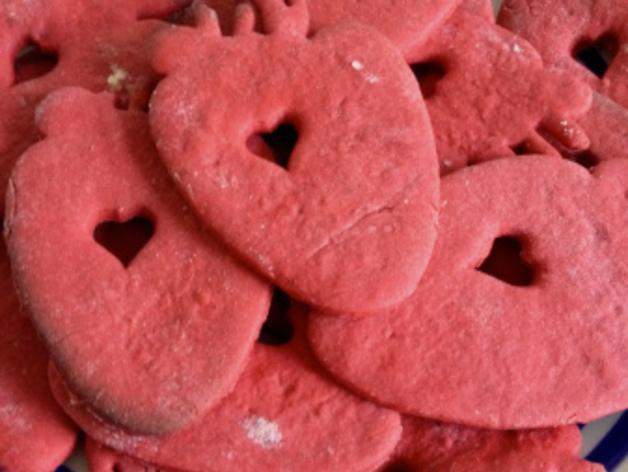 草莓心形饼干模具切割刀 3D模型  图4