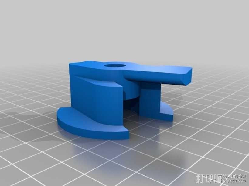 带锁心形收纳盒 3D模型  图5