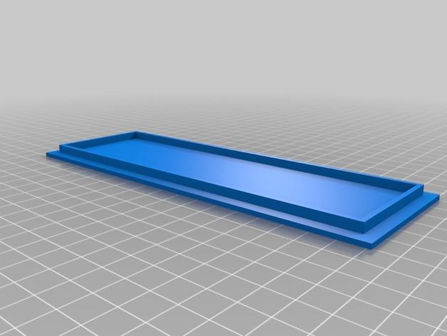 AA/AAA电池盒 3D模型  图2