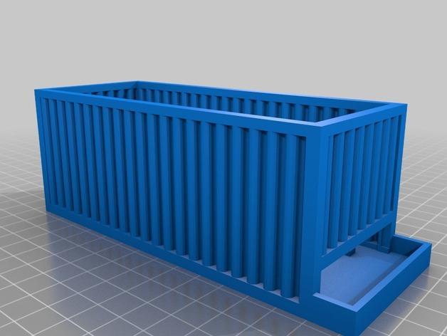 AA/AAA电池盒 3D模型  图4