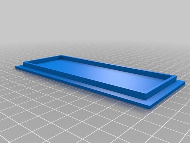 AA/AAA电池盒 3D模型  图3