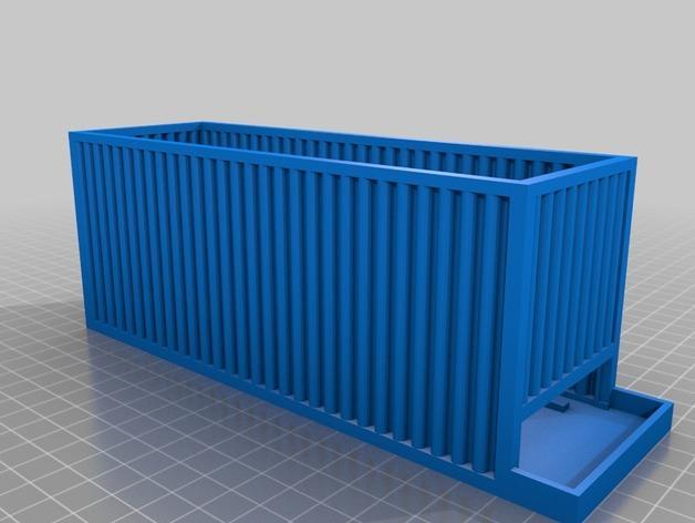 AA/AAA电池盒 3D模型  图5