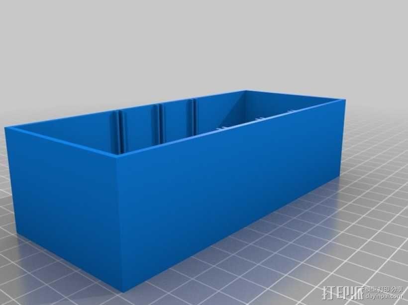 迷你零部件储物柜 3D模型  图6