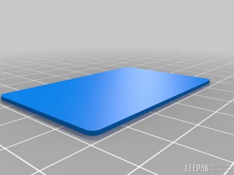 迷你零部件储物柜 3D模型  图7