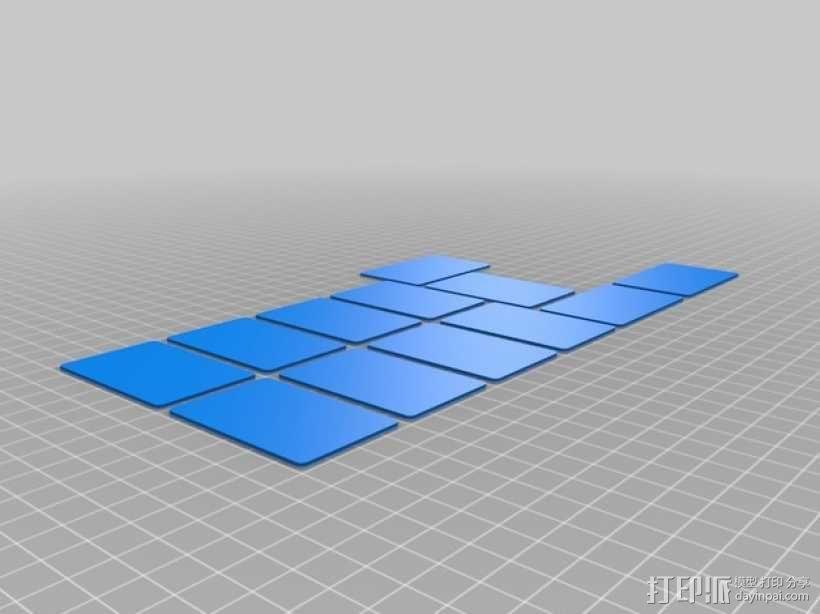 迷你零部件储物柜 3D模型  图8