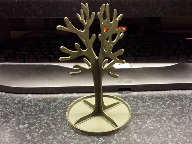 树形珠宝架 3D模型  图1